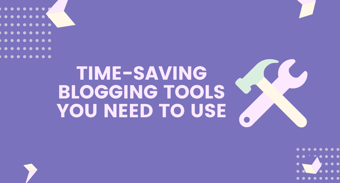 time shaving blogging tools